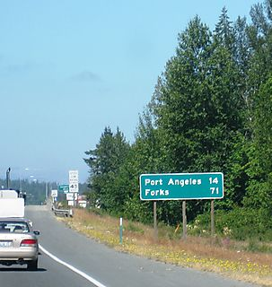 Forks_port angeles sign