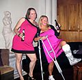Crutches dance