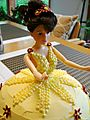 Doll cake_closeup